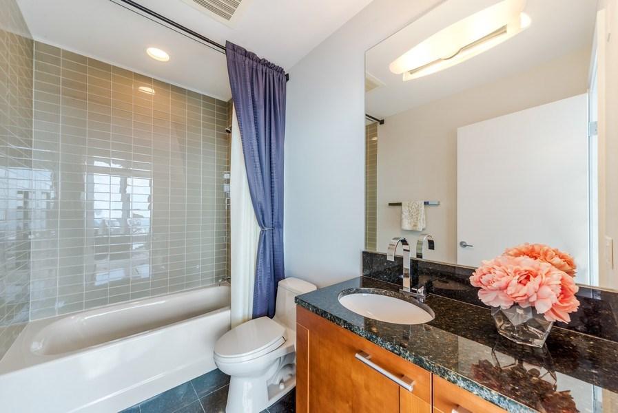 Real Estate Photography - 340 E Randolph St, Unit 5401, Chicago, IL, 60601 - Bathroom