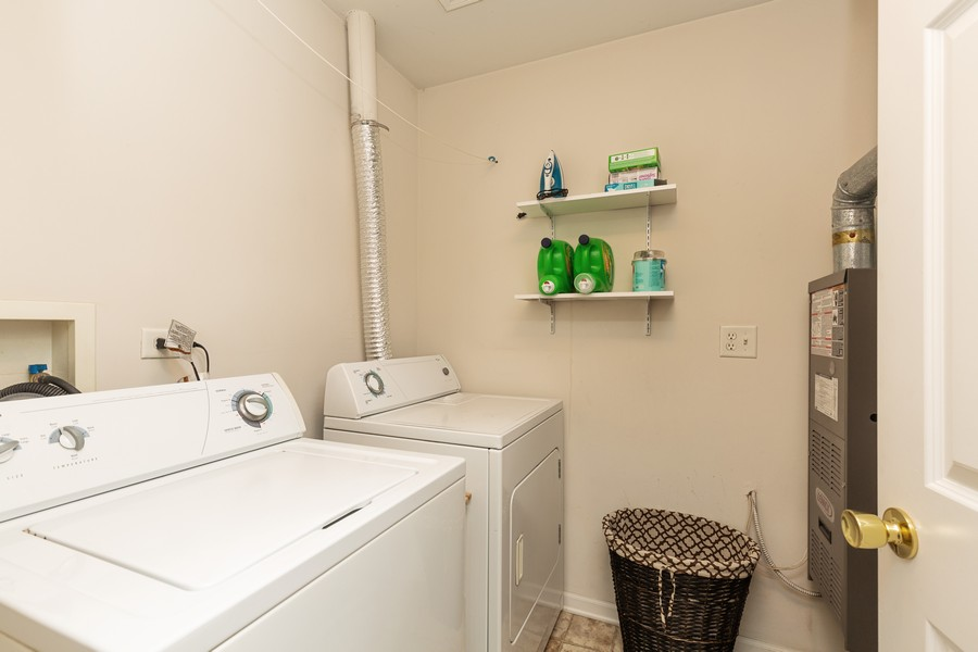 Real Estate Photography - 1890 Sebastian Dr, 0, Woodstock, IL, 60098 - LAUNDRY ROOM--Second floor laundry room!!