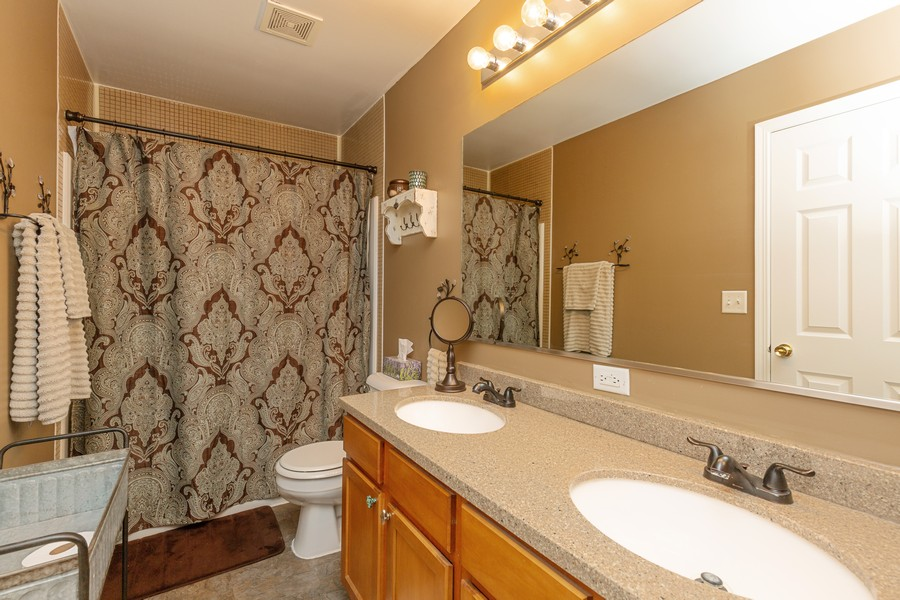 Real Estate Photography - 1890 Sebastian Dr, 0, Woodstock, IL, 60098 - MASTER BATHROOM--Recently updated!!