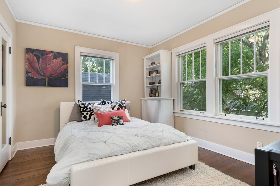 Real Estate Photography - 534 Forest Ave, Glen Ellyn, IL, 60137 - 3rd Bedroom