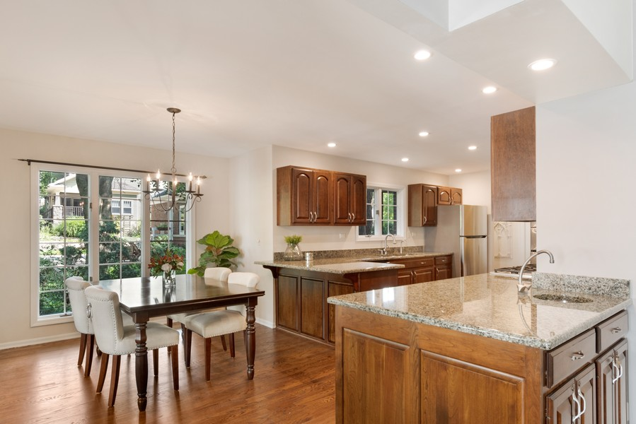 Real Estate Photography - 534 Forest Ave, Glen Ellyn, IL, 60137 - Kitchen / Breakfast Room