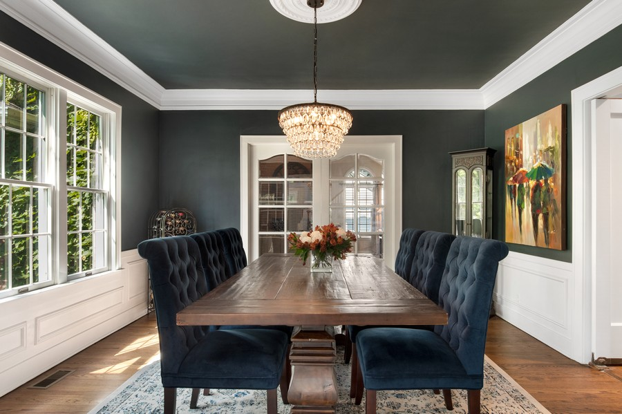 Real Estate Photography - 534 Forest Ave, Glen Ellyn, IL, 60137 - Dining Room