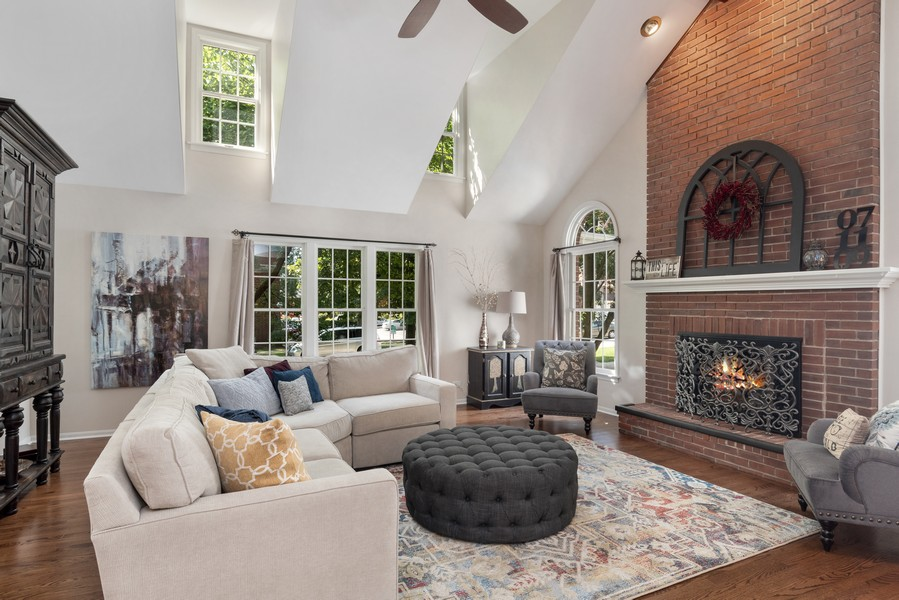 Real Estate Photography - 534 Forest Ave, Glen Ellyn, IL, 60137 - Family Room