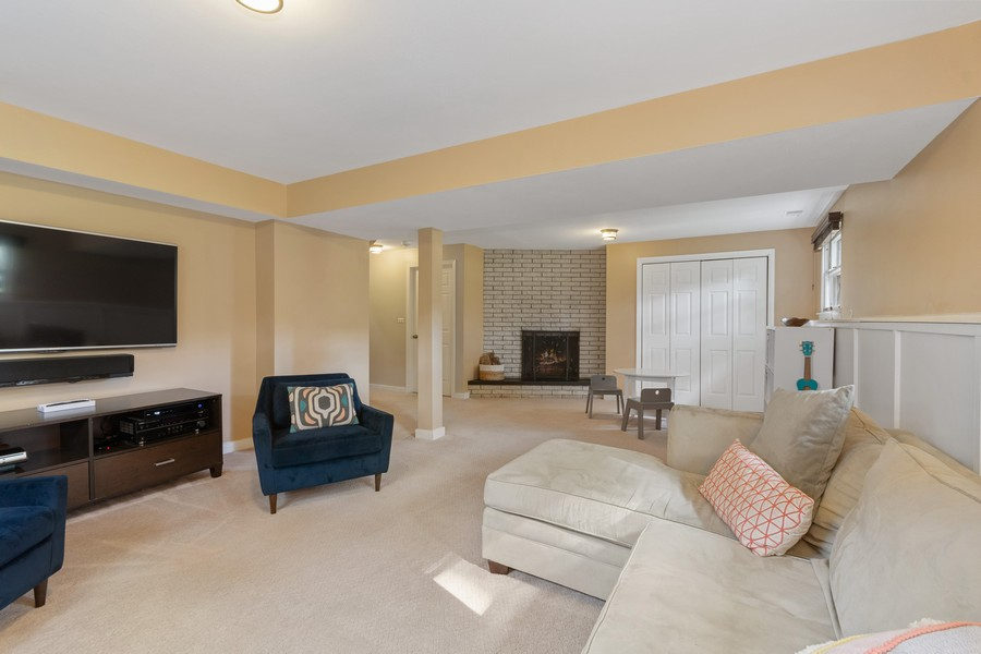 Real Estate Photography - 1012 Royal Saint George Dr, Naperville, IL, 60563 - Family Room