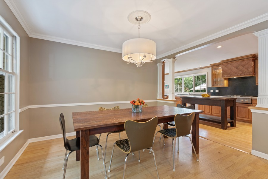 Real Estate Photography - 1012 Royal Saint George Dr, Naperville, IL, 60563 - Dining Room