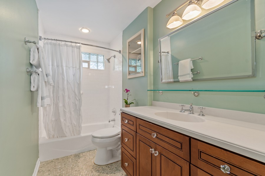 Real Estate Photography - 1012 Royal Saint George Dr, Naperville, IL, 60563 - Bathroom