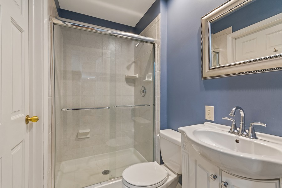 Real Estate Photography - 1012 Royal Saint George Dr, Naperville, IL, 60563 - 2nd Bathroom