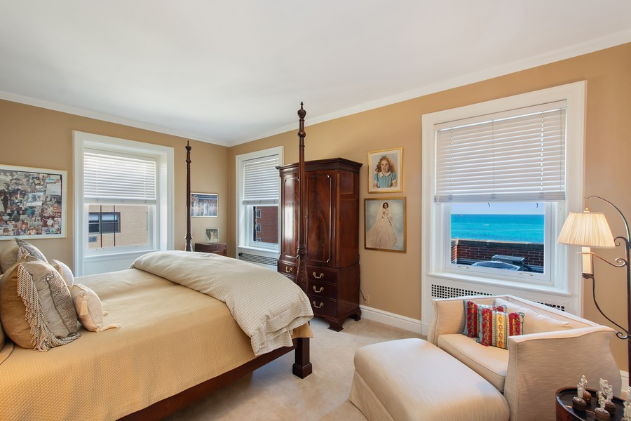 Real Estate Photography - 1325 North Astor St, 13, Chicago, IL, 60610 - 2nd Bedroom