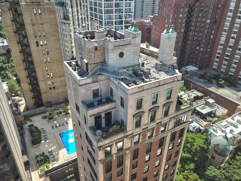 Real Estate Photography - 1325 North Astor St, 13, Chicago, IL, 60610 - Aerial View
