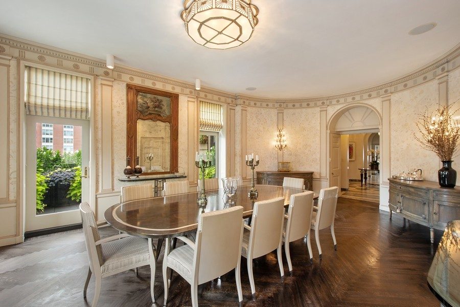Real Estate Photography - 1325 North Astor St, 13, Chicago, IL, 60610 - Dining Room