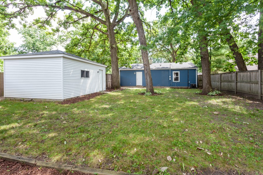 Real Estate Photography - 6 East Pine St, Streamwood, IL, 60107 - Rear View