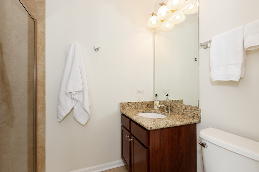 Real Estate Photography - 4900 Forest Ave, 304, Downers Grove, IL, 60515 - Master Bathroom