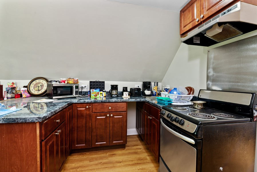 Real Estate Photography - 4237 West School St, Chicago, IL, 60641 - Kitchen