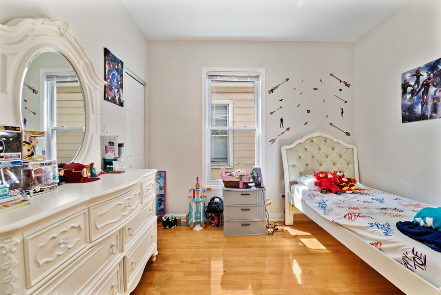 Real Estate Photography - 4237 West School St, Chicago, IL, 60641 - Bedroom