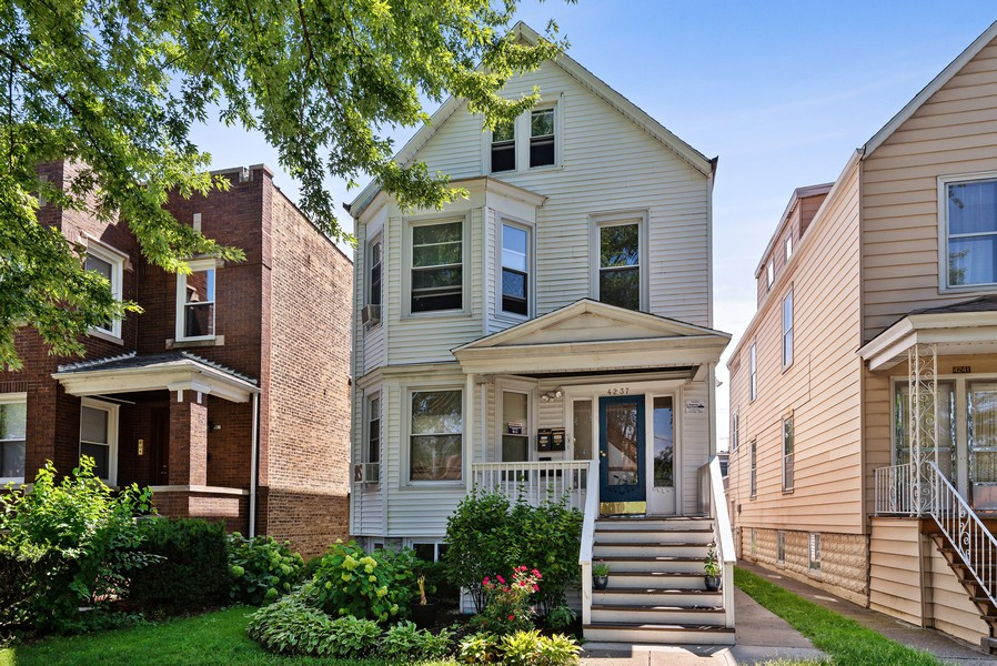 Real Estate Photography - 4237 West School St, Chicago, IL, 60641 - Front View
