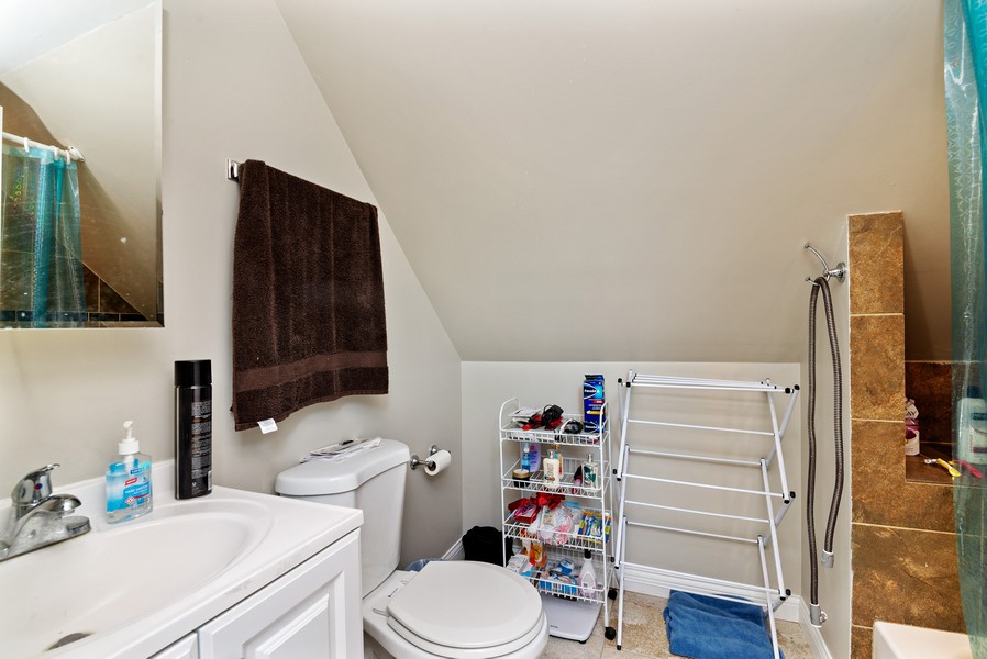Real Estate Photography - 4237 West School St, Chicago, IL, 60641 - 2nd Bathroom