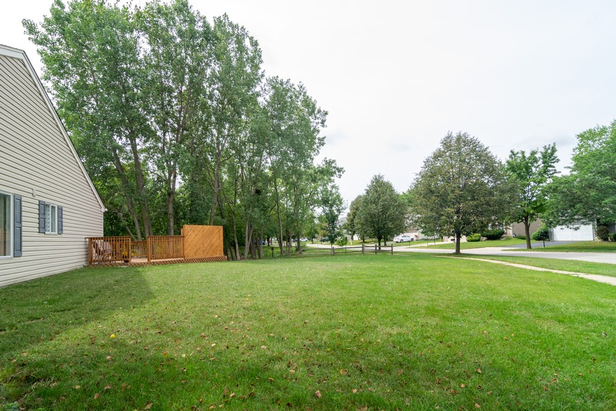 Real Estate Photography - 927 Hartwood Dr, Streamwood, IL, 60107 - Side Yard