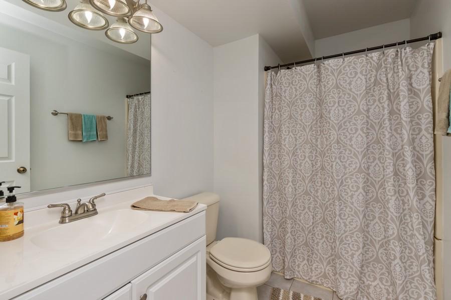 Real Estate Photography - 1986 North Amber Prairie Way, Lake Villa, IL, 60046 - Bathroom