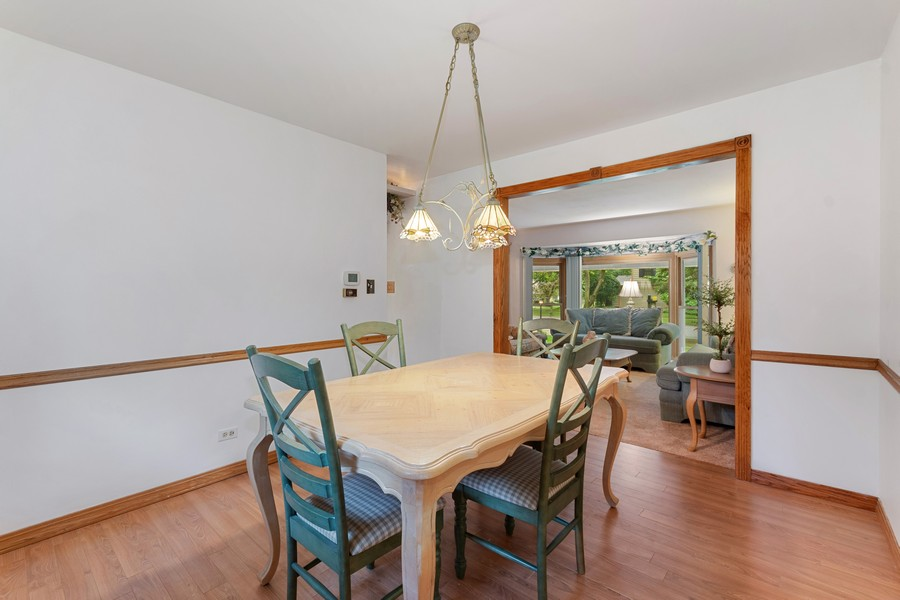 Real Estate Photography - 1520 Shenandoah Ln, Naperville, IL, 60563 - Dining Room
