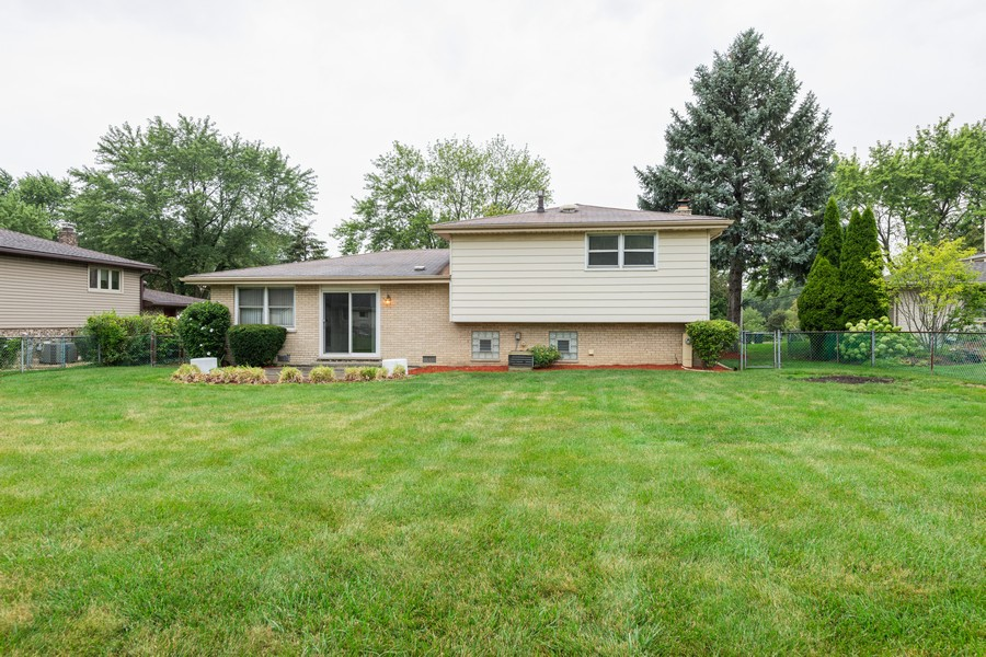Real Estate Photography - 9S175 Kearney Rd, Downers Grove, IL, 60516 - Rear View