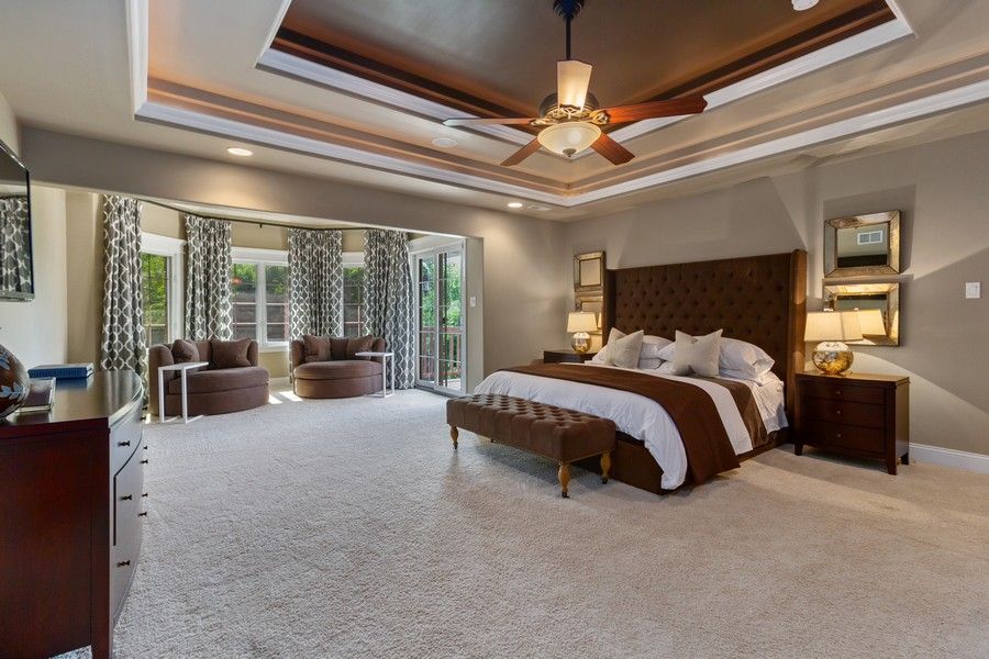 Real Estate Photography - 22622 Nature Creek Circle, Frankfort, IL, 60423 - Master Bedroom
