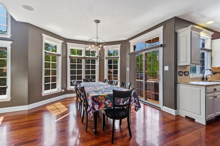Real Estate Photography - 22622 Nature Creek Circle, Frankfort, IL, 60423 - Kitchen / Breakfast Room