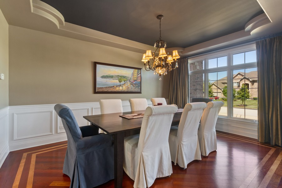 Real Estate Photography - 22622 Nature Creek Circle, Frankfort, IL, 60423 - Dining Room