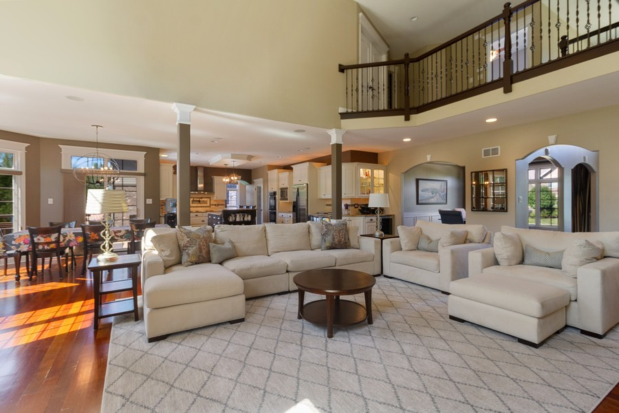 Real Estate Photography - 22622 Nature Creek Circle, Frankfort, IL, 60423 - Family Room