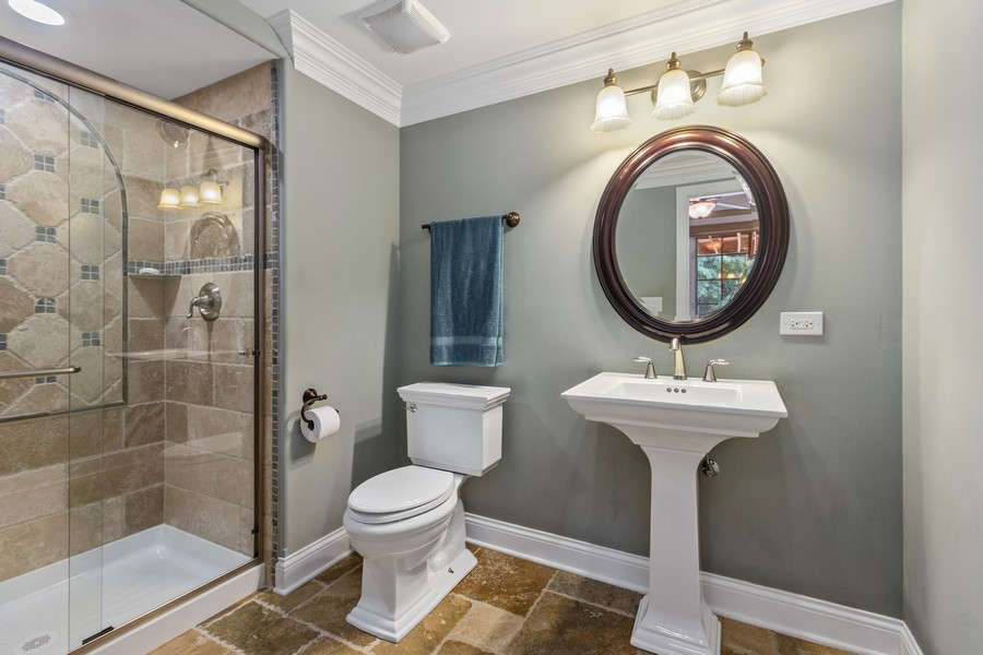 Real Estate Photography - 22622 Nature Creek Circle, Frankfort, IL, 60423 - 2nd Bathroom