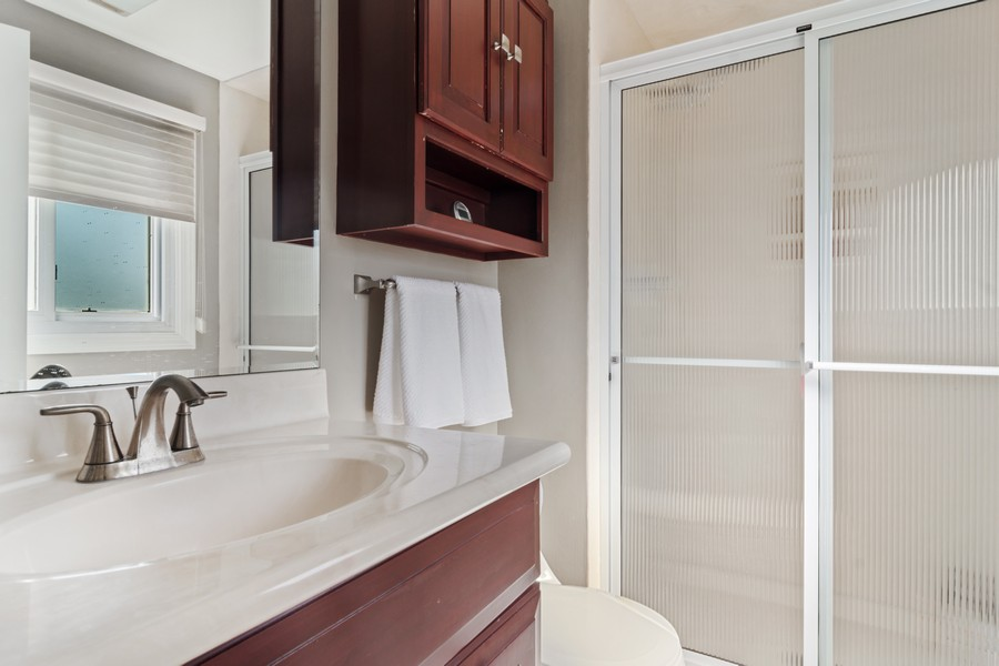 Real Estate Photography - 702 East Hackberry Dr, Arlington Heights, IL, 60004 - Master Bathroom