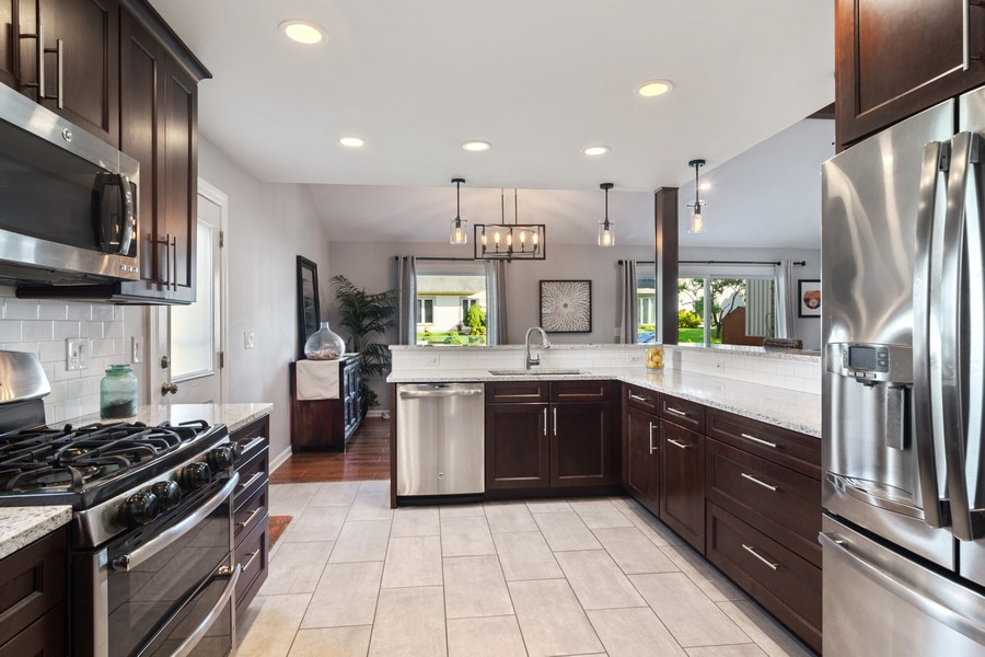 Real Estate Photography - 702 East Hackberry Dr, Arlington Heights, IL, 60004 - Kitchen 1
