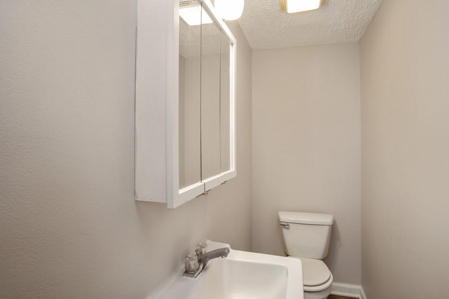 Real Estate Photography - 3102 Lynnwood Ct, Streamwood, IL, 60107 - Powder Room
