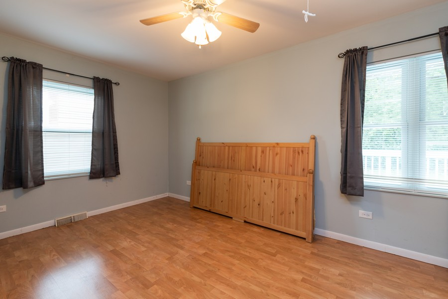 Real Estate Photography - 841 Hillandale Dr, Antioch, IL, 60002 - Master Bedroom