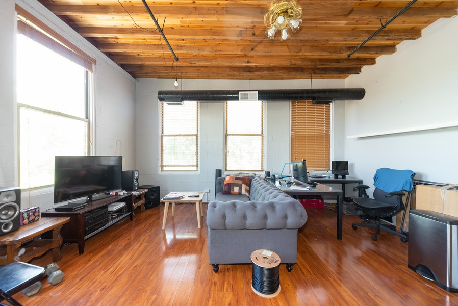 Real Estate Photography - 525 North Halsted St, 315, Chicago, IL, 60642 - Living Room