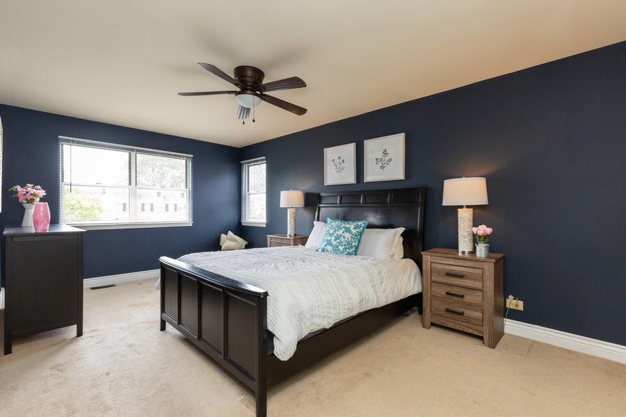 Real Estate Photography - 645 Old Oak Cir, Algonquin, IL, 60102 - Master Bedroom