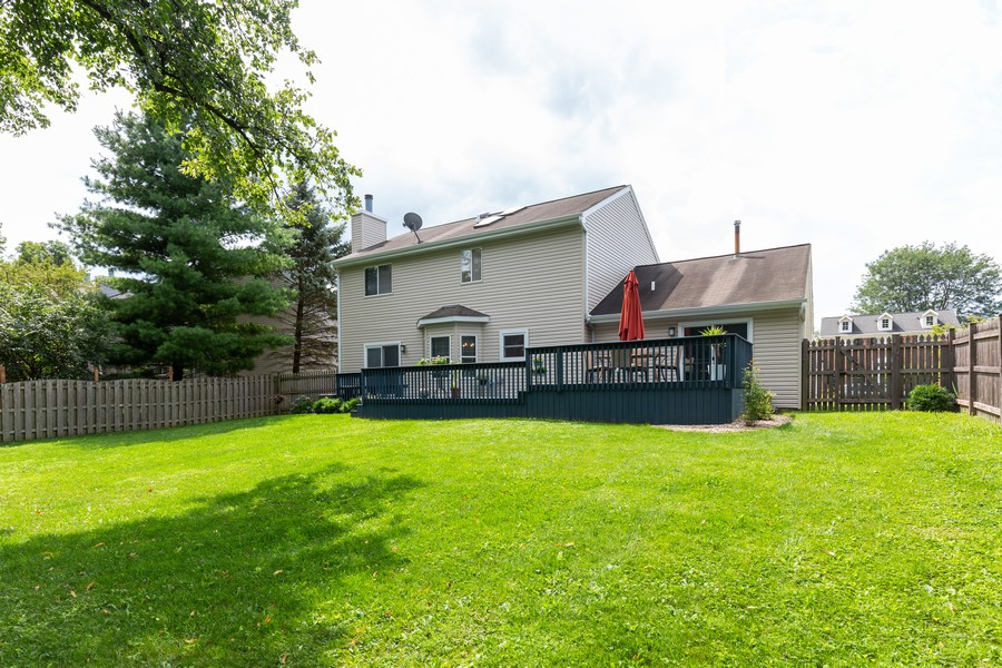 Real Estate Photography - 645 Old Oak Cir, Algonquin, IL, 60102 - Rear View