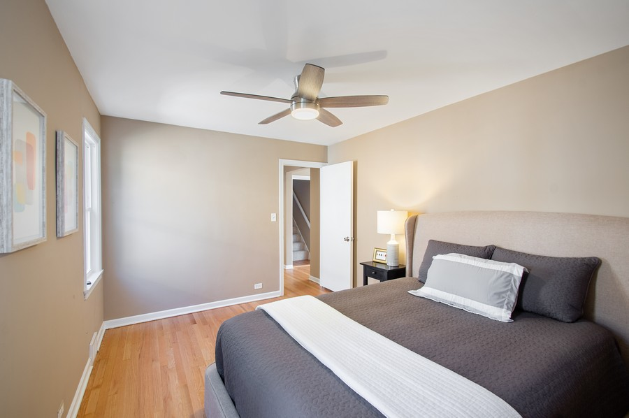 Real Estate Photography - 217 Hartrey Ave, Evanston, IL, 60202 - 2nd Bedroom