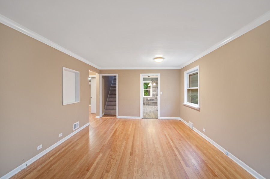 Real Estate Photography - 217 Hartrey Ave, Evanston, IL, 60202 - Living Room