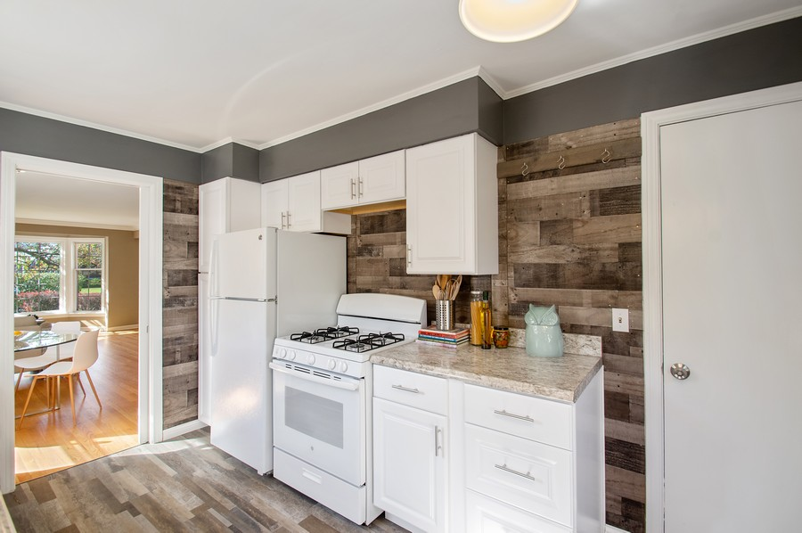 Real Estate Photography - 217 Hartrey Ave, Evanston, IL, 60202 - Kitchen