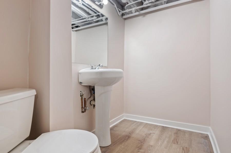 Real Estate Photography - 217 Hartrey Ave, Evanston, IL, 60202 - Half Bath