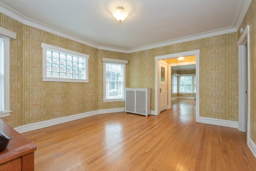 Real Estate Photography - 4820 West Oakdale Ave, Chicago, IL, 60641 - Dining Room