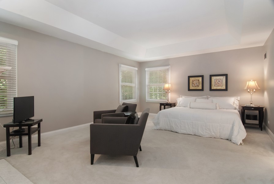 Real Estate Photography - 2306 Brookwood Ct, Aurora, IL, 60502 - Master Bedroom