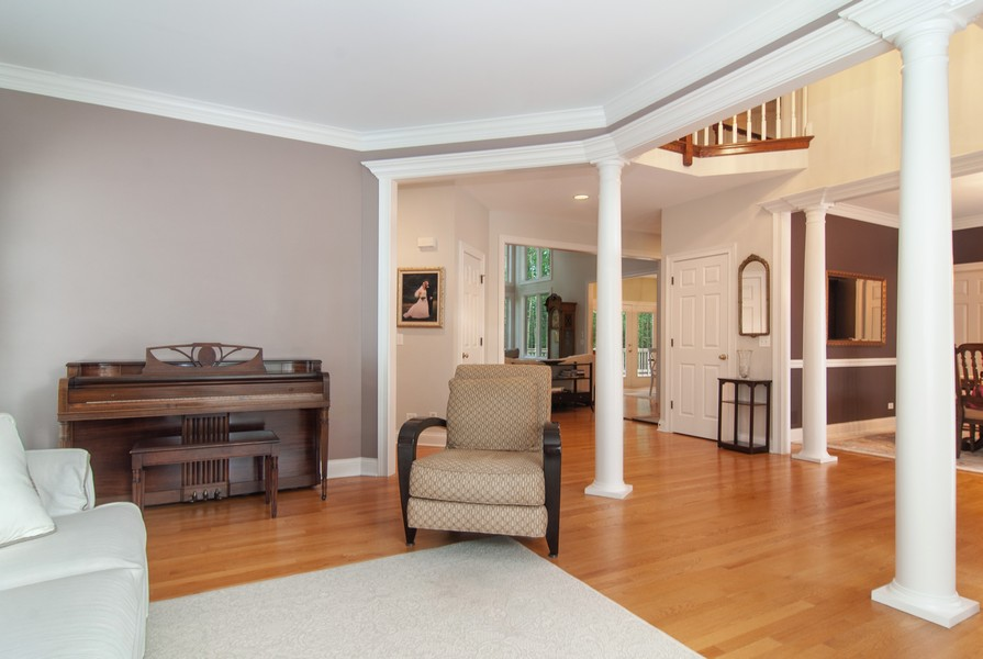 Real Estate Photography - 2306 Brookwood Ct, Aurora, IL, 60502 - Living Room