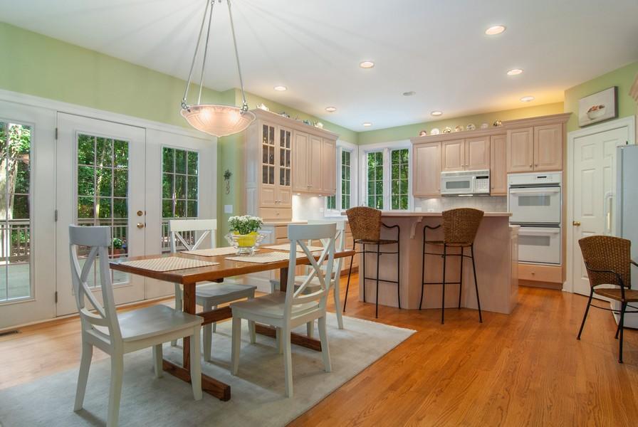 Real Estate Photography - 2306 Brookwood Ct, Aurora, IL, 60502 - Kitchen / Breakfast Room