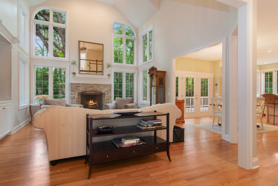 Real Estate Photography - 2306 Brookwood Ct, Aurora, IL, 60502 - Family Room