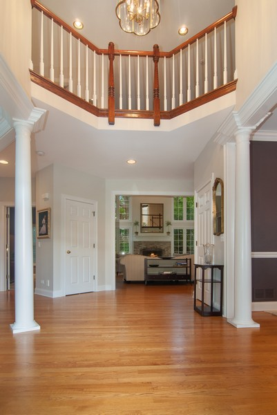 Real Estate Photography - 2306 Brookwood Ct, Aurora, IL, 60502 - Foyer