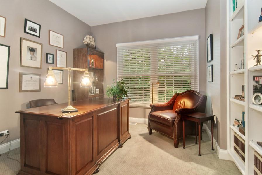 Real Estate Photography - 2306 Brookwood Ct, Aurora, IL, 60502 - Den