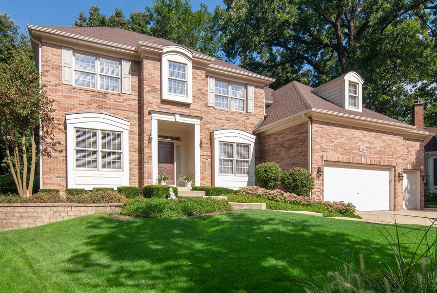 Real Estate Photography - 2306 Brookwood Ct, Aurora, IL, 60502 - Front View