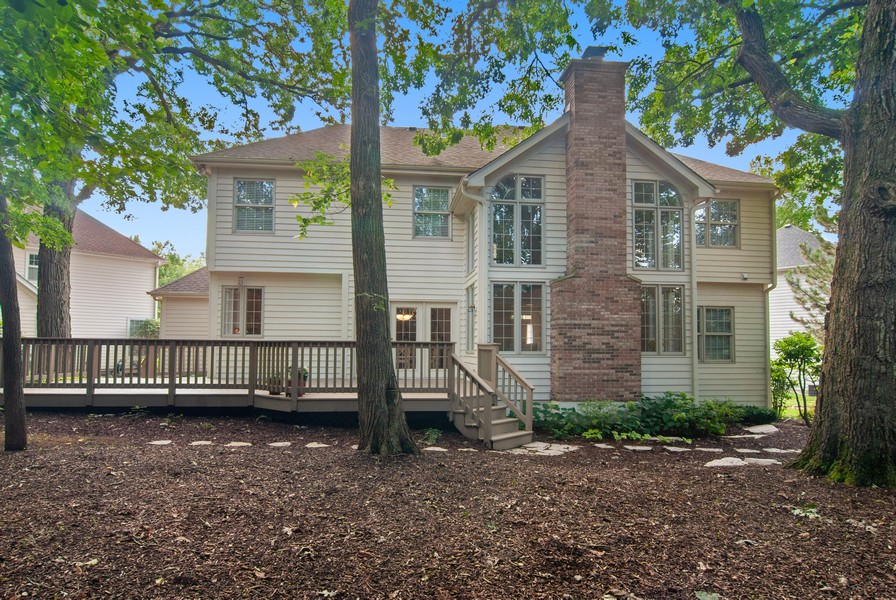 Real Estate Photography - 2306 Brookwood Ct, Aurora, IL, 60502 - Rear View