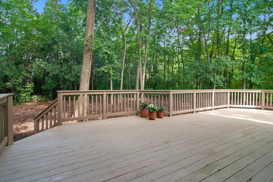 Real Estate Photography - 2306 Brookwood Ct, Aurora, IL, 60502 - Deck
